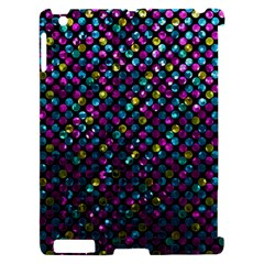 Polka Dot Sparkley Jewels 2 Apple iPad 2 Hardshell Case (Compatible with Smart Cover)