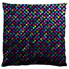 Polka Dot Sparkley Jewels 2 Large Cushion Case (Two Sided)