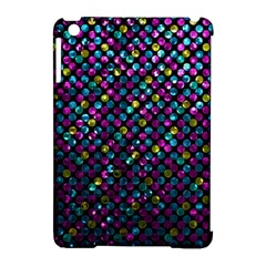 Polka Dot Sparkley Jewels 2 Apple iPad Mini Hardshell Case (Compatible with Smart Cover)