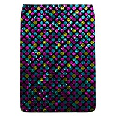 Polka Dot Sparkley Jewels 2 Removable Flap Cover (Large)