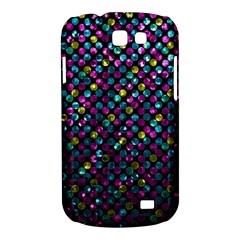 Polka Dot Sparkley Jewels 2 Samsung Galaxy Express I8730 Hardshell Case