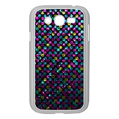 Polka Dot Sparkley Jewels 2 Samsung Galaxy Grand DUOS I9082 Case (White)