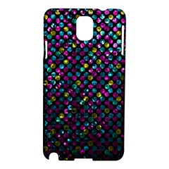 Polka Dot Sparkley Jewels 2 Samsung Galaxy Note 3 N9005 Hardshell Case