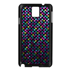 Polka Dot Sparkley Jewels 2 Samsung Galaxy Note 3 N9005 Case (Black)