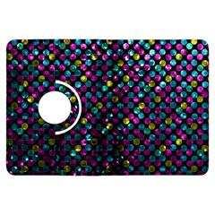 Polka Dot Sparkley Jewels 2 Kindle Fire Hdx 7  Flip 360 Case