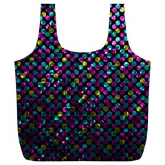 Polka Dot Sparkley Jewels 2 Reusable Bag (xl)