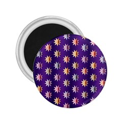 Flare Polka Dots 2.25  Button Magnet
