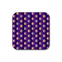 Flare Polka Dots Drink Coasters 4 Pack (square)