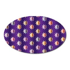 Flare Polka Dots Magnet (Oval)