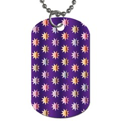 Flare Polka Dots Dog Tag (Two-sided)