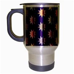 Flare Polka Dots Travel Mug (Silver Gray)