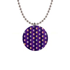 Flare Polka Dots Button Necklace