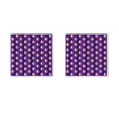 Flare Polka Dots Cufflinks (Square)
