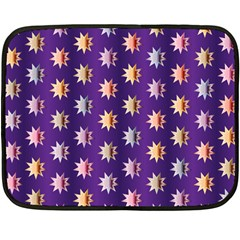 Flare Polka Dots Mini Fleece Blanket (Two Sided)