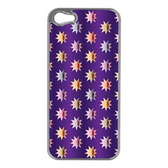 Flare Polka Dots Apple Iphone 5 Case (silver)