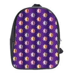 Flare Polka Dots School Bag (xl)
