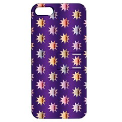 Flare Polka Dots Apple iPhone 5 Hardshell Case with Stand
