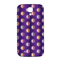 Flare Polka Dots Samsung Galaxy S4 I9500/I9505  Hardshell Back Case