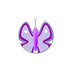 Cute Awareness Butterfly Golf Ball Marker