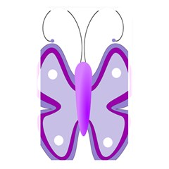 Cute Awareness Butterfly Memory Card Reader (rectangular)