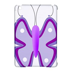 Cute Awareness Butterfly Apple iPad Mini Hardshell Case (Compatible with Smart Cover)