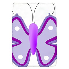 Cute Awareness Butterfly Removable Flap Cover (Small)