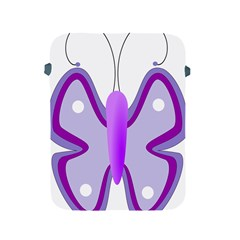 Cute Awareness Butterfly Apple iPad Protective Sleeve