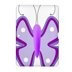 Cute Awareness Butterfly Samsung Galaxy Tab 2 (10.1 ) P5100 Hardshell Case