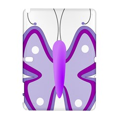 Cute Awareness Butterfly Samsung Galaxy Note 10.1 (P600) Hardshell Case