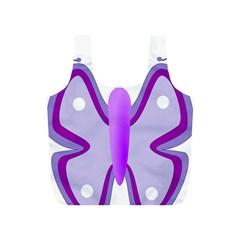 Cute Awareness Butterfly Reusable Bag (S)
