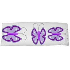 Cute Awareness Butterfly Body Pillow (dakimakura) Case (two Sides)