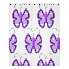 Cute Awareness Butterfly Shower Curtain 60  x 72  (Medium)