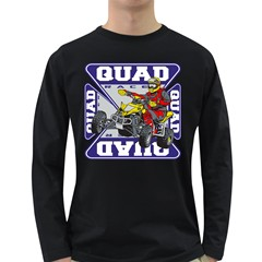 Quad Racer Long Sleeve Dark T-Shirt