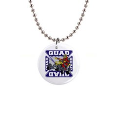 Quad Racer 1  Button Necklace