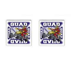 Quad Racer Cufflinks (Square)