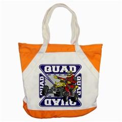 Quad Racer Accent Tote Bag