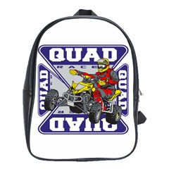 Quad Racer School Bag (Large)