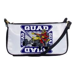 Quad Racer Shoulder Clutch Bag