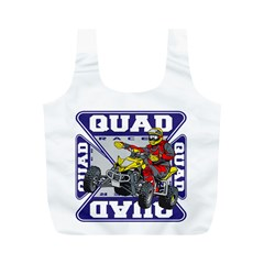 Quad Racer Full Print Recycle Bag (M)