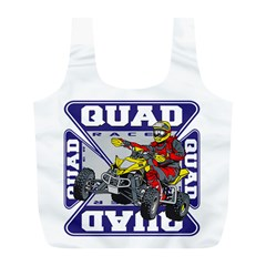 Quad Racer Full Print Recycle Bag (l)