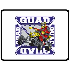 Quad Racer Fleece Blanket (Extra Large)