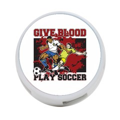 Give Blood Play Soccer 4 Port Usb Hub (one Side)