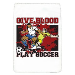 Give Blood Play Soccer Removable Flap Cover (large)