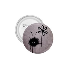 Evil Flower Bug Vintage 1 75  Button