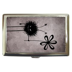 Evil Flower Bug Vintage Cigarette Money Case
