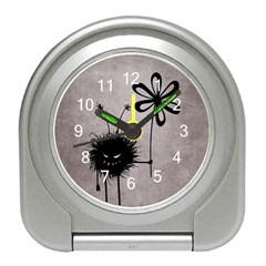 Evil Flower Bug Vintage Desk Alarm Clock