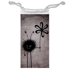 Evil Flower Bug Vintage Jewelry Bag
