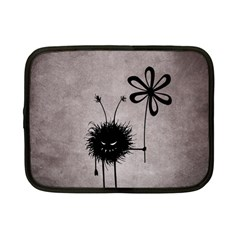 Evil Flower Bug Vintage Netbook Sleeve (Small)
