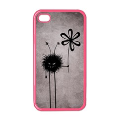 Evil Flower Bug Vintage Apple iPhone 4 Case (Color)