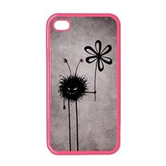 Evil Flower Bug Vintage Apple iPhone 4 Case (Color)